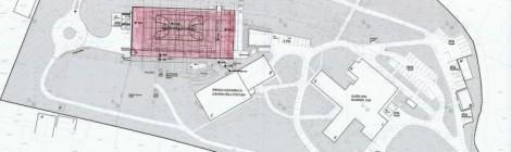 Projekt: Športna dvorana v Postojni